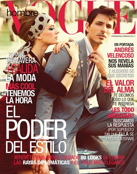 VOGUE HOMBRE Julia Dunstall & Andres Velencoso Segura in Miami Vintage by Alexander Neumann. Spring Summer 2011, Danny Santiago, www.imageamplified.com, Image Amplified (6)