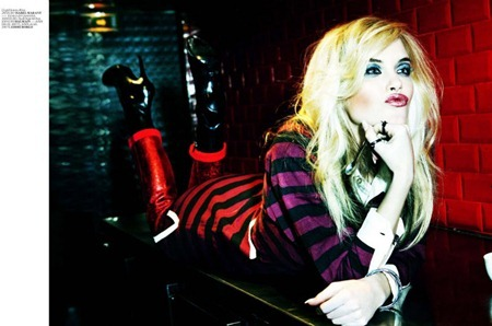 VOGUE TURKEY Ashley Smith in Blondie by Ellen von Unwerth. Sebastian Kaufmann, www.imageamplified.com, Image Amplified (3)