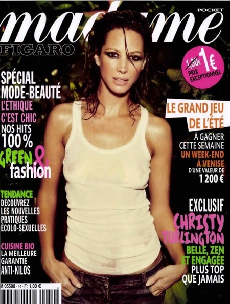 MADAME LE FIGARO MAGAZINE Christy Turlington by Ellen von Unwerth. June 2011, www.imageamplified.com, Image Amplified (5)
