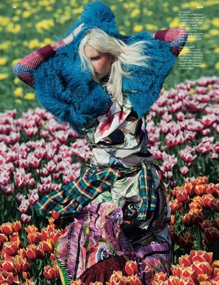 DAZED & CONFUSED MAGAZINE Lisanne de Jong in In Bloom by Viviane Sassen. July 2011, Kate Shillingford, www.imageamplified.com, Image Amplified (3)