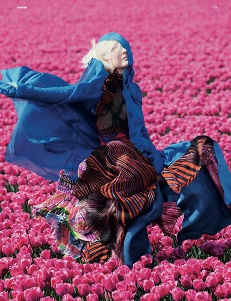 DAZED & CONFUSED MAGAZINE Lisanne de Jong in In Bloom by Viviane Sassen. July 2011, Kate Shillingford, www.imageamplified.com, Image Amplified (4)