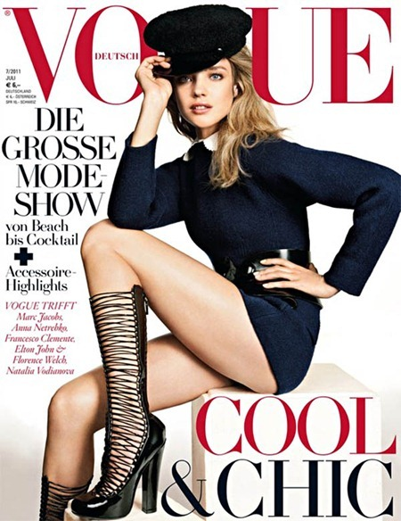 PREVIEW Natalia Vodianova for Vogue Germany, July 2011, www.imageamplified.com, Image Amplified