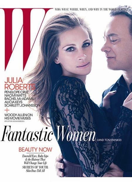W MAGAZINE Julia Roberts & Tom Hanks by Mario Sorrenti. www.imageamplified.com, Image Amplified (2)