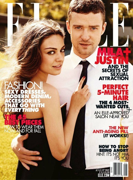 ELLE MAGAZINE Mila Kunis & Justin Timberlake in Lust in Translation by Carter Smith. August 2011, Joe Zee, www.imageamplified.com, Image Amplified (9)