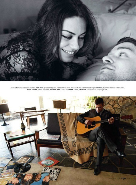 ELLE MAGAZINE Mila Kunis & Justin Timberlake in Lust in Translation by Carter Smith. August 2011, Joe Zee, www.imageamplified.com, Image Amplified (4)