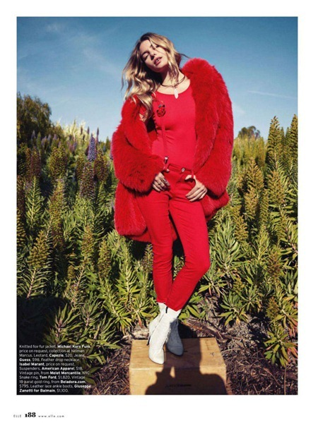 ELLE MAGAZINE Jessica Hart in Red-Hot Blues by Horst Diekgerdes. August 2011, Samira Nasr, www.imageamplified.com, Image Amplified (8)