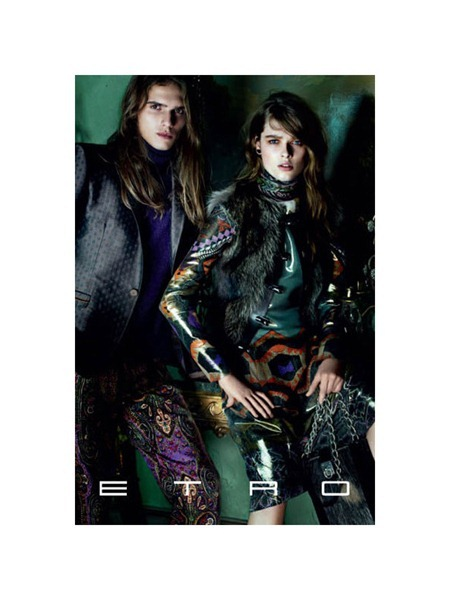 CAMPAING Stella Tennant & Aymeline Valade for Etro Fall 2011 by Mario Testino. www.imageamplified.com, Image Amplified (4)