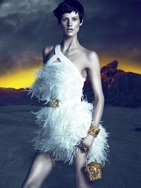 CAMPAIGN Saskia de Brauw for Versace Fall 2011 by Mert & Marcus. www.imageamplified.com, Image Amplified (2)