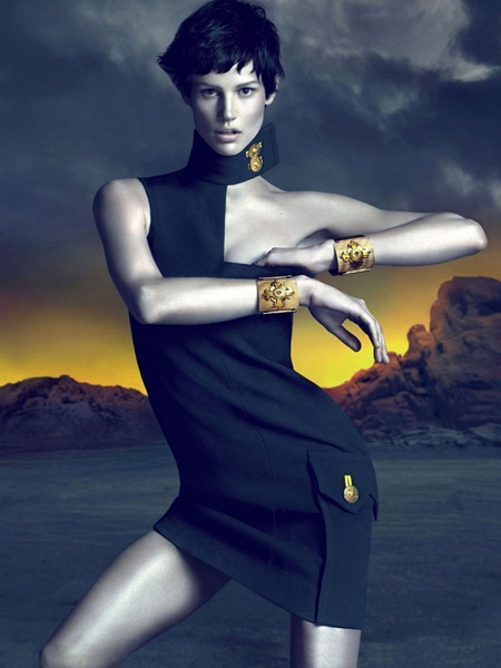 CAMPAIGN Saskia de Brauw for Versace Fall 2011 by Mert & Marcus. www.imageamplified.com, Image Amplified (11)