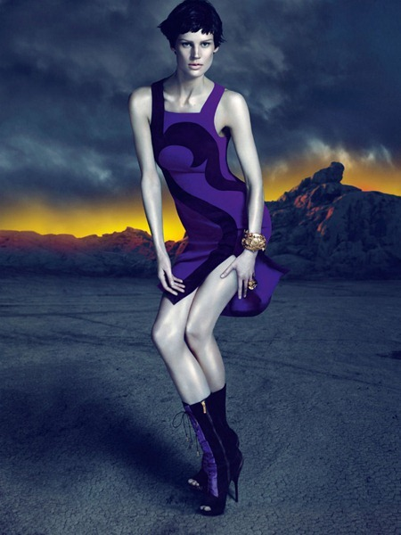 CAMPAIGN Saskia de Brauw for Versace Fall 2011 by Mert & Marcus. www.imageamplified.com, Image Amplified (12)