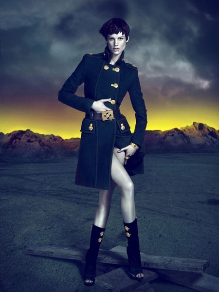 CAMPAIGN Saskia de Brauw for Versace Fall 2011 by Mert & Marcus. www.imageamplified.com, Image Amplified (1)