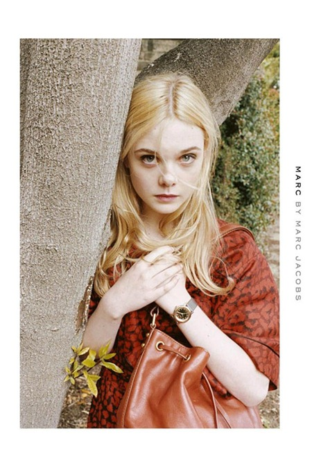 CAMPAIGN Elle Fanning for Marc by Marc Jacobs Fall 2011 by Juergen Teller. www.imageamplified.com, Image Amplified (2)