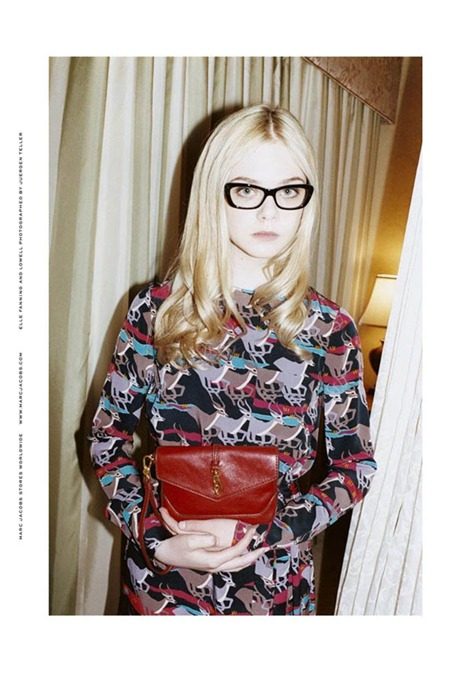 CAMPAIGN Elle Fanning for Marc by Marc Jacobs Fall 2011 by Juergen Teller. www.imageamplified.com, Image Amplified (3)