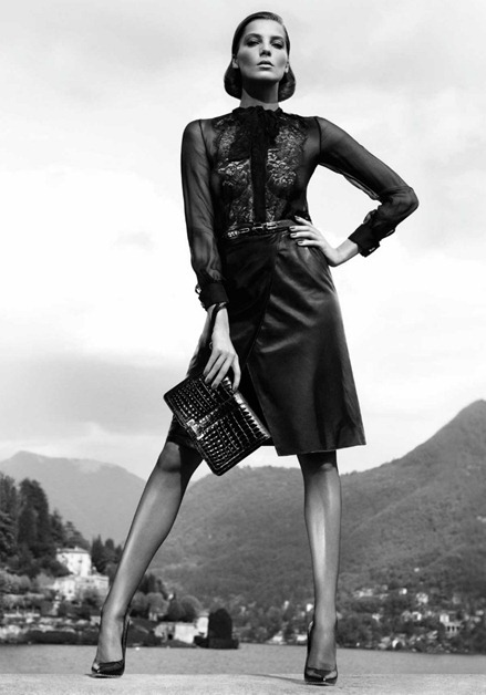 CAMPAIGN Daria Werbowy for Salvatore Ferragamo Fall 2011 by Mikael Jansson. www.imageamplified.com, Image Amplified (3)