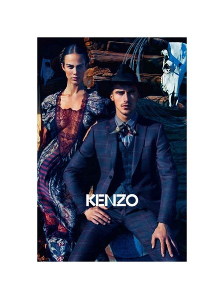 CAMPAIGN Aymeline Valade & Kasia Struss for Kenzo Fall 2011 by Mario Sorrenti. www.imageamplified.com, Image Amplified (1)