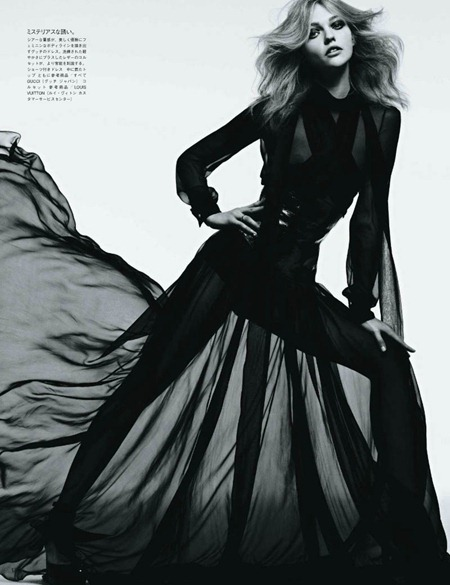 VOGUE JAPAN Sasha Pivovarova in Tough Love by Hedi Slimane. August 2011, www.imageamplified.com, Image Amplified (4)