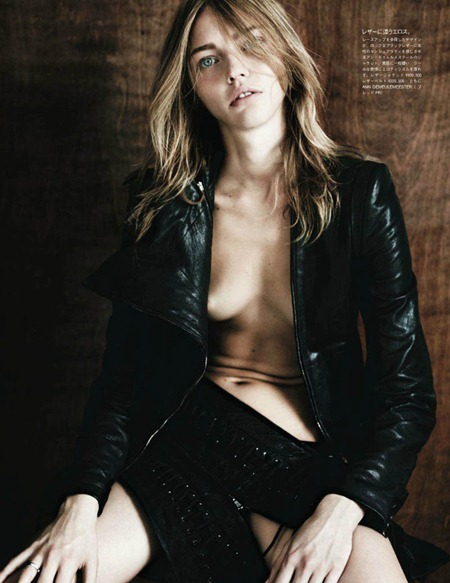 VOGUE JAPAN Sasha Pivovarova in Tough Love by Hedi Slimane. August 2011, www.imageamplified.com, Image Amplified (6)