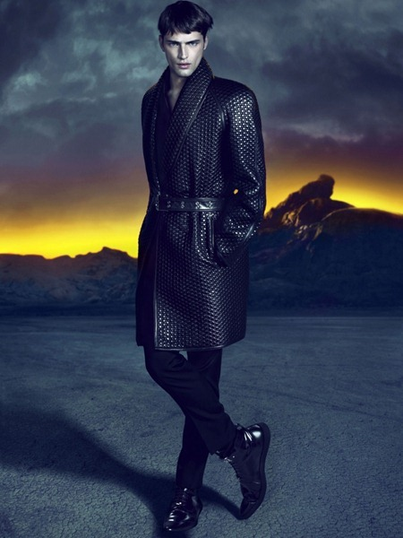 CAMPAIGN Sean O'Pry for Versace Fall 2011 by Mert & Marcus. www.imageamplified.com, Image Amplified (2)