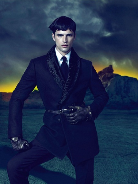 CAMPAIGN Sean O'Pry for Versace Fall 2011 by Mert & Marcus. www.imageamplified.com, Image Amplified (3)