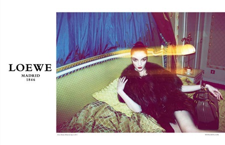 CAMPAIGN Mariacarla Boscono for Loewe Fall 2011 by Mert & Marcus. www.imageamplified.com, Image Amplified (1)