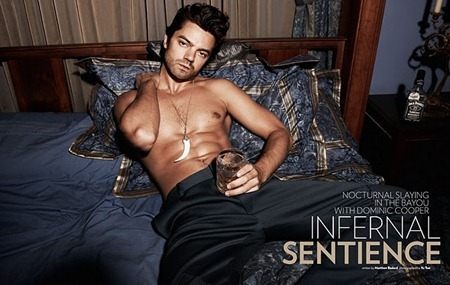FLAUNT MAGAZINE Dominic Cooper in Infernal Sentience by Yu Tsai. www.imageamplified.com, image Amplified (1)