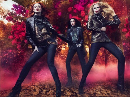CAMPAIGN Mariacarla Boscono, Karen Elson & Natasha Poly for Roberto Cavalli Fall 2011 by Mert & Marcus. Panos Yiapanis, www.imageamplified.com, Image Amplified (7)