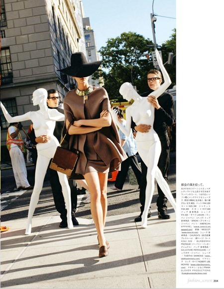 VOGUE JAPAN Karlie Kloss in In Love With the City by Arthur Elgort. Giovanna Battaglia, September 2011, www.imageamplified.com, Image Amplified (1)