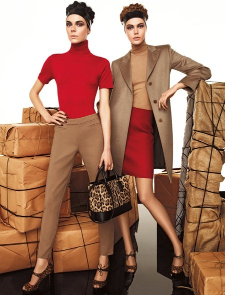 CAMPAIGN Frida Gustavsson & Kinga Rajzak for Max Mara Studio Fall 2011 by Giampaolo Sgura. www.imageamplified.com, Image Amplified (12)