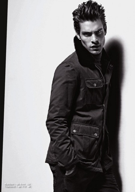 CAMPAIGN Jon Kortajarena for Armani Jeans Fall 2011. www.imageamplified.com, Image Amplified (8)