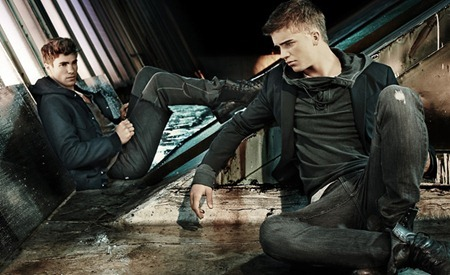 CAMPAIGN Julian Schratter & River Viiperi for Armani Exchange Fall 2011 by Matthew Scrivens. www.imageamplified.com, Image Amplified (5)