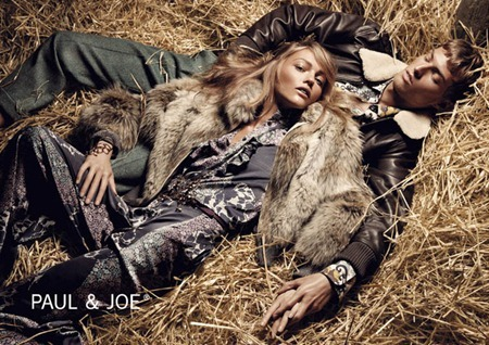 CAMPAIGN Sasha Pivovarova & Adrian Bosche for Paul & Joe Fall 2011. www.imageamplified.com, Image Amplified (1)