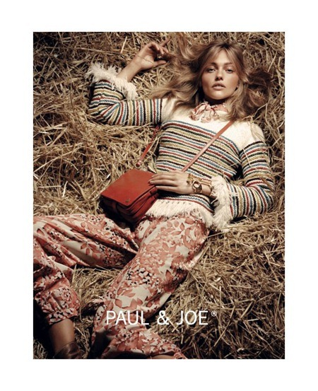 CAMPAIGN Sasha Pivovarova & Adrian Bosche for Paul & Joe Fall 2011. www.imageamplified.com, Image Amplified (5)