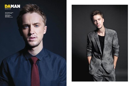 DAMAN MAGAZINE Tom Felton in Born to be Bad by Michael Nguyen McCormack. Ashley Phan-Weston, September 2011, www.imageamplified.com, Image Amplified (3)