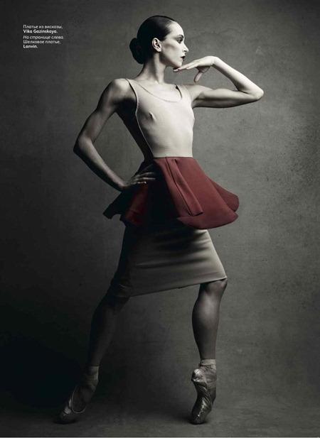 VOGUE RUSSIA Prima Ballerina Diana Vishneva by Patrick Demarchelier. Katerina Mukhina, September 2011, www.imageamplified.com, Image Amplified (8)