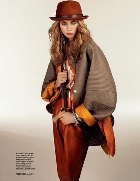 VOGUE RUSSIA Anna Selezneva by Anthony Maule. Geraldine Saglio, September 2011, www.imageamplified.com, Image Amplified (2)