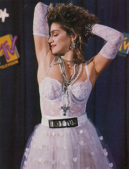 WE ♥ MADONNA Madonna Like a Virgin at the 1984 MTV Video Music Awards. 1984, www.imageamplified.com, Image Amplified (1)