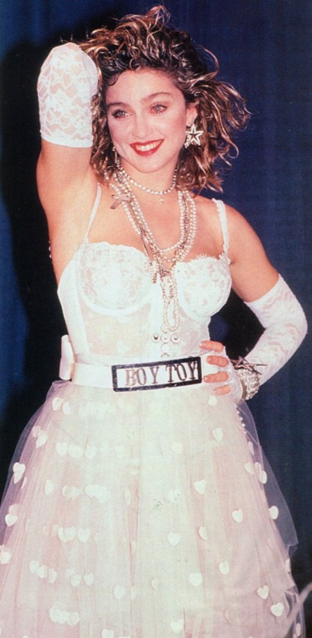 WE ♥ MADONNA Madonna Like a Virgin at the 1984 MTV Video Music Awards. 1984, www.imageamplified.com, Image Amplified (4)