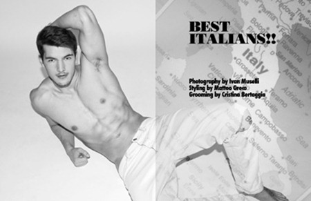 CLIENT MAGAZINE Best Italians! by Ivan Muselli. Matteo Greco. www.imageamplified.com, Image Amplified (2)