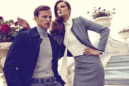 CAMPAIGN Eniko Mihalik & Lars Burmeister for Sarar Fall 2011 by Koray Birand. www.imageamplified.com, Image Amplified (12)