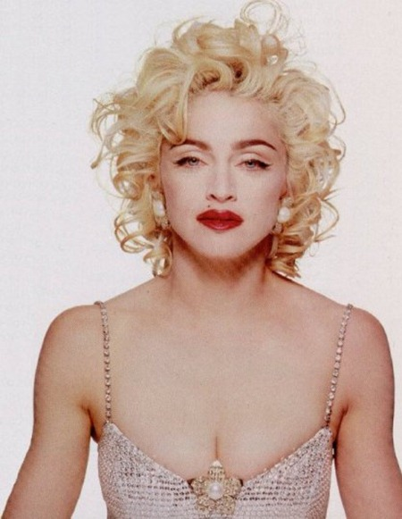 WE ♥ MADONNA Madonna for Glamour Magazine, 1990. 1990, www.imageamplified.com, Image Amplified (2)