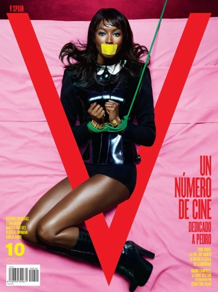 PREVIEW Naomi Campbell for V Spain #10 by Sebastian Faena. www.imageamplified.com, Image Amplified