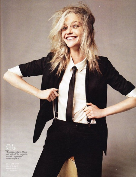 H&M MAGAZINE Sasha Pivovarova in Best Fall Looks by Josh Olins. Ludvine Poiblanc, www.imageamplified.com, Image Amplified (9)