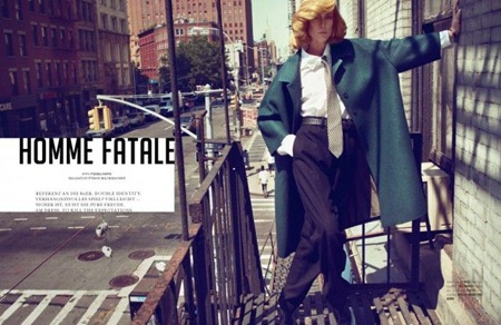 TUSH MAGAZINE Natasa Vojnovic in Homme Fatale by Txema Yeste. Fall 2011, www.imageamplified.com, Image Amplified (3)