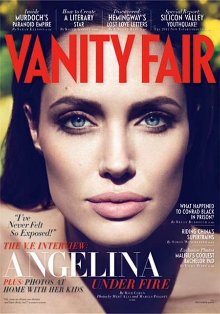 PREVIEW Angelina Jolie for Vanity Fair, October, 2011 by Mert & Marcus. www.imageamplified.com, Image Amplified (2)