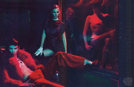 W MAGAZINE Lara Stone in Red Lights Blue Angels by Mert & Marcus. Edward Enninful, September 2011, www.imageamplified.com, Image Amplified (7)