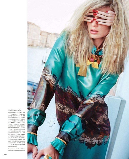 VOGUE JAPAN Julia Stegner in The Spectacle of Nobility by Katja Rahlwes. Sissy Vian, October 2011, www.imageamplified.com, Image Amplified (3)