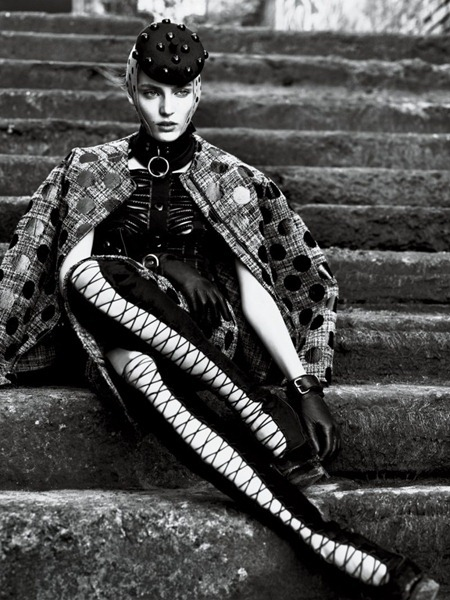 INTERVIEW MAGAZINE Candice Swanepoel, Anais Pouliot & Saskia de Brauw in Strict by Mert & Marcus. Karl Templer, September 2011, www.imageamplified.com, Image Amplified (12)