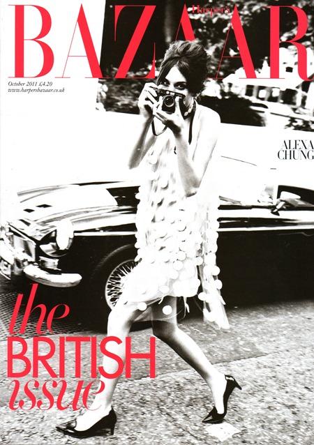 HARPER'S BAZAAR UK Alexa Chung in The British Issue by Ellen von Unwerth. October 2011, www.imageamplified.com, Image Amplified (1)