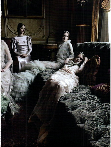 VOGUE ITALIA Valentino Haute Couture by Deborah Turbeville. September 2011, www.imageamplified.com, Image Amplified (1)
