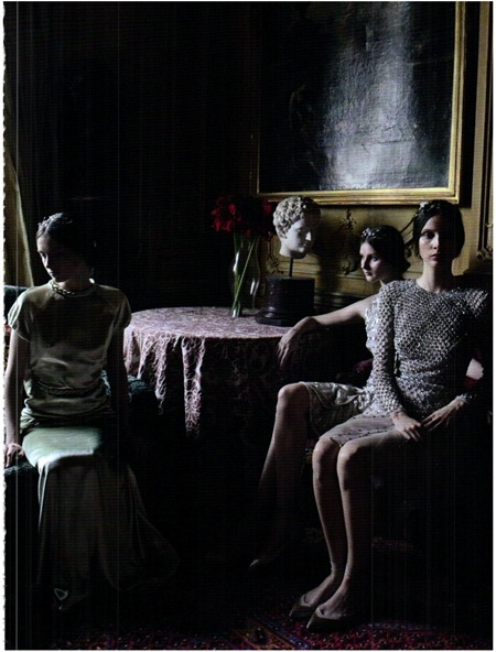 VOGUE ITALIA Valentino Haute Couture by Deborah Turbeville. September 2011, www.imageamplified.com, Image Amplified (5)